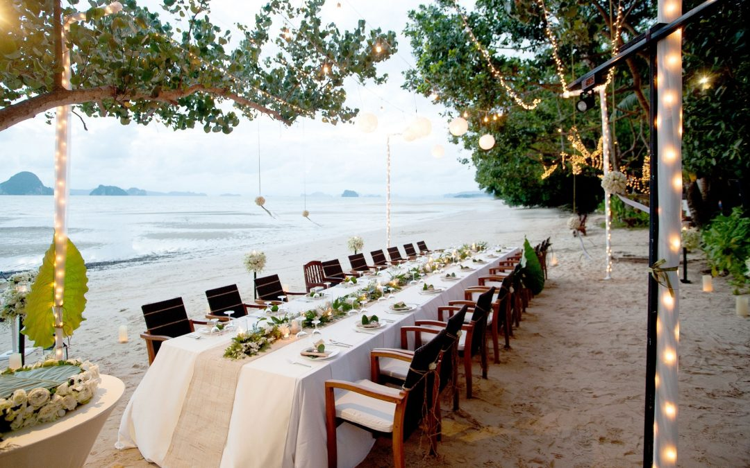 beach wedding decorations, beach wedding venue